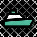 Cruise Ship Transportation Vehicle Icon