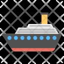 Cruise Ship Liner Icon