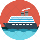 Cruise Ship Rich Icon