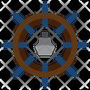 Cruise Steering Wheel Icon