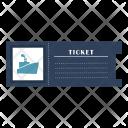 Ship Ticket Cruise Icon