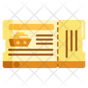 Cruise Ticket Entry Pass Icon