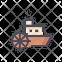 Cruise Wheel Boat Wheel Boat Steering Icon