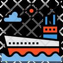 Cruiser Ferry Boat Ship Icon