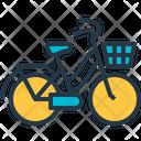 Cruiser Beach Bike Icon
