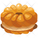 Cruller Bakery Food Icon