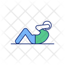 Crunch Abs Body Icon