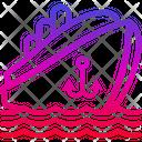 Boat Sea Ocean Icon