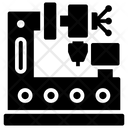 Crusher Machine Icon