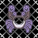 Crustacean Shrimp Crab Icon