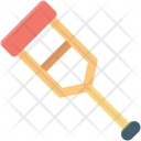 Crutch Disabled Fracture Icon