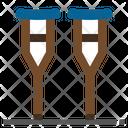 Crutches Crutch Leg Icon