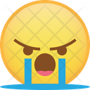 Cry Sob Angry Icon