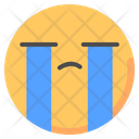 Cry Crying Emot Icon