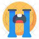 Cry Crying Emoticons Icon