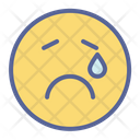 Emotion Smiley Tragedy Icon