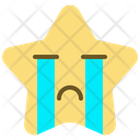 Cry Sad Emoticon Icon