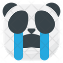 Sob Cry Panda Icon