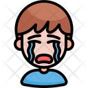 Cry Crying Feeling Icon