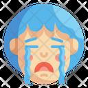Cry Emoji Sad Icon