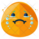 Cry Emoji Face Icon
