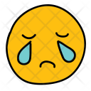 Cry Emoji Avatar Icon