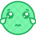 Cry And Sad Icon