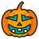 Halloween Scary Pumpkin Icon