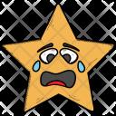 Baffled Star Emoji Icon