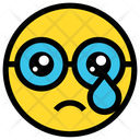 Cry Sad Tear Icon