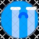 Crying Cry Emoticon Icon