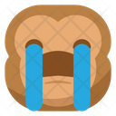 Sob Crying Monkey Icon