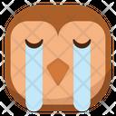 Sob Owl Icon