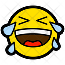 Crying Laughter Laughing Icon