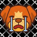 Crying Emoji Emoticon Icon