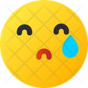 Crying Smiley Avatar Icon
