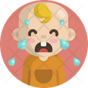 Baby Crying Sad Icon