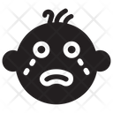 Crying Baby Angry Baby Icon
