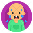 Crying Kid Crying Baby Weeping Baby Icon