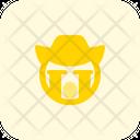 Crying Cowboy Icon