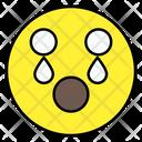 Crying Emoji Emotion Emoticon Icon