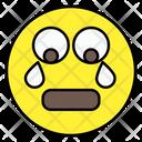 Crying Emoji Emoticon Smiley Icon