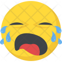 Weeping Sad Crying Icon