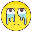 Crying Emoji Crying Expression Emotag Icon