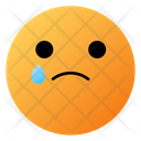 Crying Face Emoji Face Icon