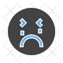 Crying Emoji Face Icon