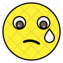 Emoji Crying Face Emoticon Icon