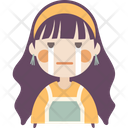 Crying Girl Icon