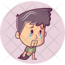 Crying Man Icon