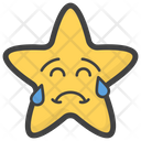 Crying Star Icon